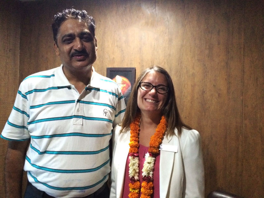 Ms Jeneffer Jonhson visited our office from Northern Light College
